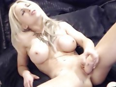 Amateur, Big Boobs, Blonde, Blowjob, Webcam