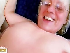 Old and Young, Amateur, Blowjob, Granny, Mature