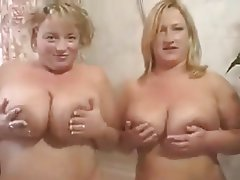 Big Boobs, Blonde, British, Lesbian