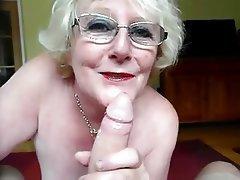Amateur, Blowjob, Granny