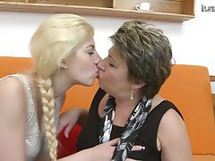 Granny, Lesbian, Mature, Teen, Old and Young