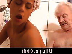 Blowjob, Brunette, Hardcore, Old and Young
