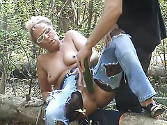 Amateur, German, Masturbation, MILF, Outdoor