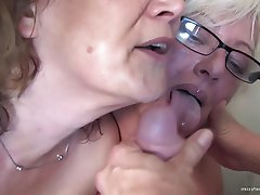 Amateur, Granny, Mature, Group Sex