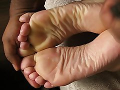 Amateur, Foot Fetish, Massage, Masturbation