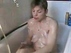 German, Shower, Masturbation, Webcam