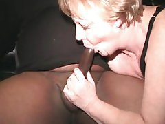 Cumshot, Interracial, Mature, Granny