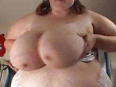 BBW, Masturbation, Big Boobs, Big Butts, Big Tits