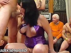 Anal, Blowjob, Group Sex, MILF, Gangbang