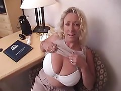 blonde tits mature Amateur big