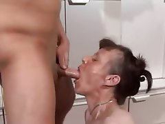 Private mature cumshot