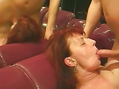 Blowjob, Cumshot, Mature, Old and Young