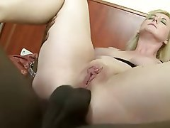 Anal, Mature, Double Penetration, Interracial
