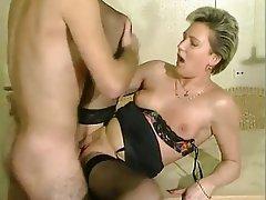 German, Group Sex, Mature, MILF, Stockings