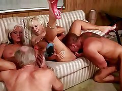 Granny, Group Sex, Mature