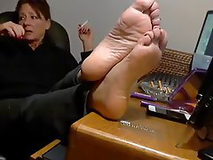 Fetish mature foot