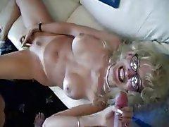 Amateur, Blonde, Blowjob, Cumshot, Facial