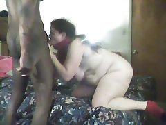 Blowjob, Mature, Cumshot, Interracial